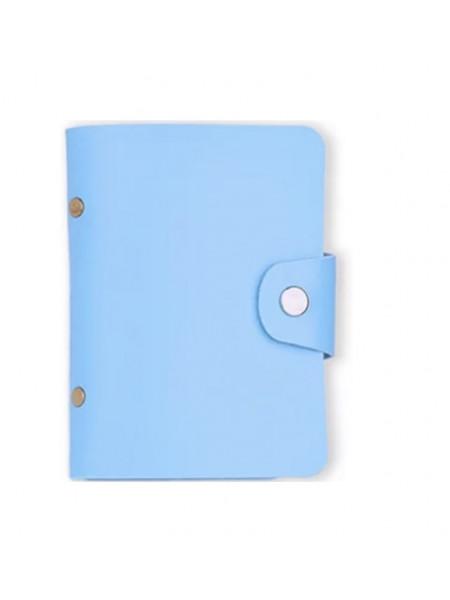 Альбом для пластин голубой