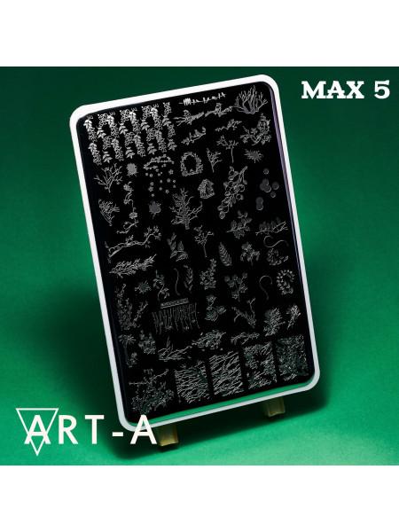 Пластина для стемпинга Art-A MAX 5
